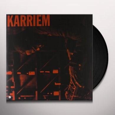 Karriem Riggins ALONE Vinyl Record