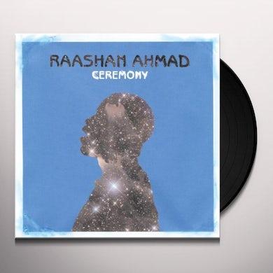 Raashan Ahmad CEREMONY Vinyl Record - UK Release