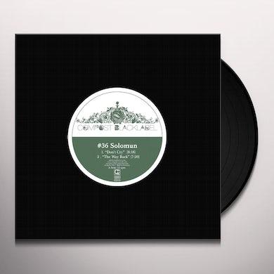 Solomun COMPOST BLACK LABEL 36 Vinyl Record