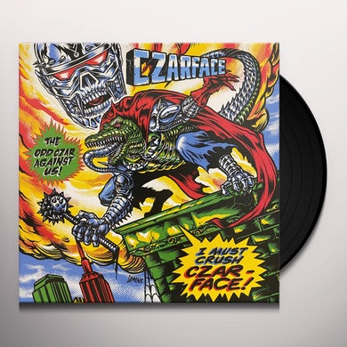 CZARFACE ODD CZAR AGAINST US Vinyl Record