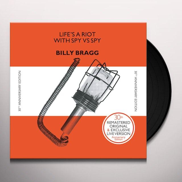 Billy Bragg LIFE'S A RIOT (30TH ANNIVERSARY EDITION) Vinyl Record