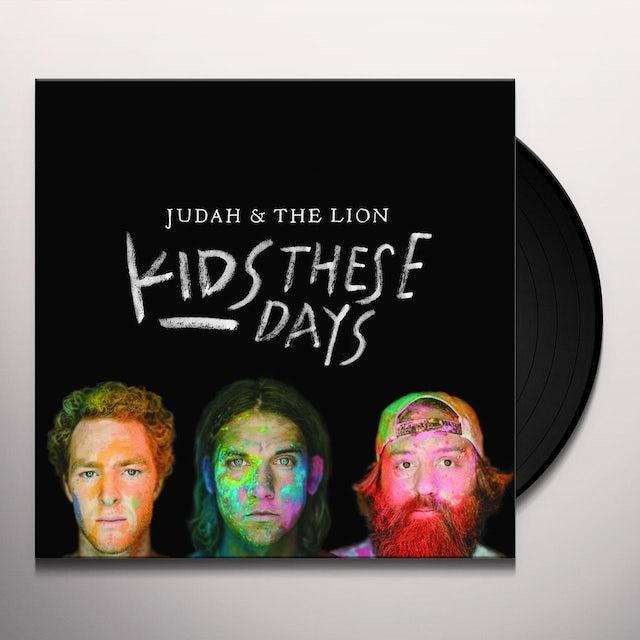 Judah & the Lion KIDS THESE DAYS Vinyl Record