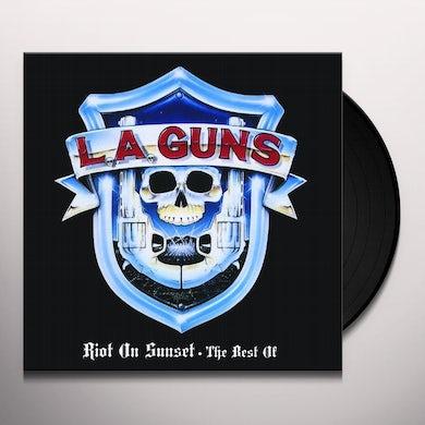 LA Guns RIOT ON SUNSET - THE BEST OF Vinyl Record