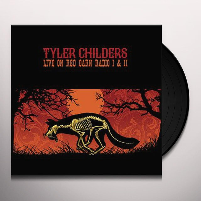 Tyler Childers LIVE ON RED BARN RADIO I & II Vinyl Record