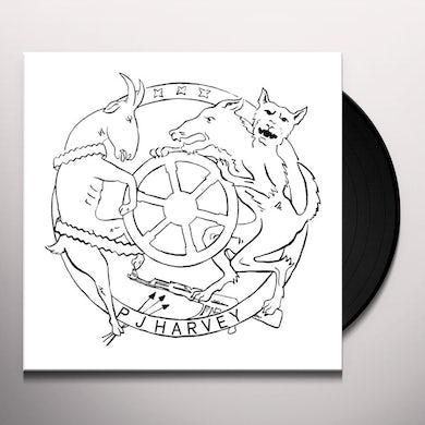 Pj Harvey WHEEL Vinyl Record - UK Release