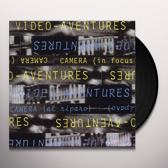 VIDEO-AVENTURES CAMERA (IN FOCUS) CAMERA (AL RIPARO) Vinyl Record