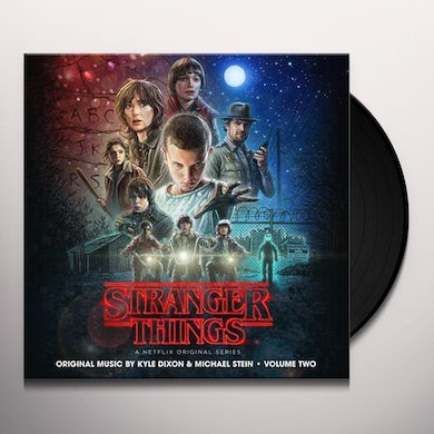 Kyle Dixon STRANGER THINGS 2 (NETFLIX ORIGINAL SERIES) - Limited Edition Interdimensional Blue Colored Double Vinyl Record