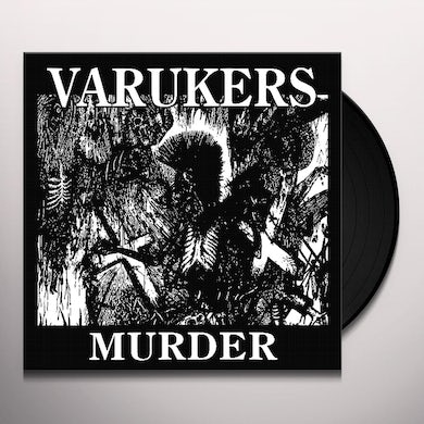 The Varukers MURDER & NOTHING'S CHANGED Vinyl Record