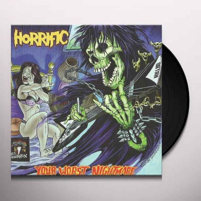Horrific YOUR WORST NIGHTMARE Vinyl Record