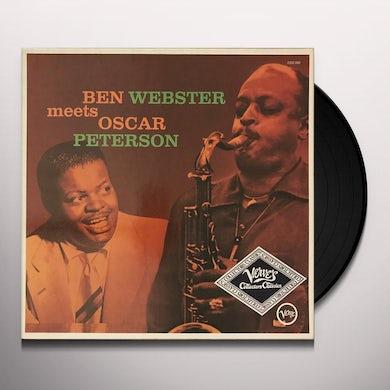 Ben Webster MEETS OSCAR PETERSON Vinyl Record