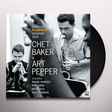 Chet Baker / Art Pepper / Phil Urso PLAYBOYS Vinyl Record