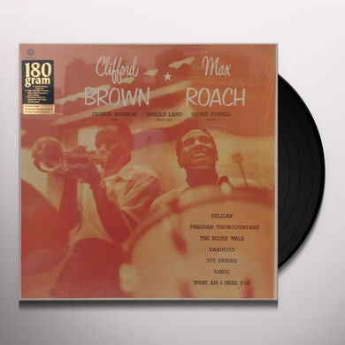 CLIFFORD BROWN & MAX ROACH (BONUS TRACK) Vinyl Record - 180 Gram Pressing