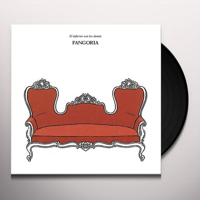 Fangoria EL INFIERNO SON LOS DEMAS Vinyl Record
