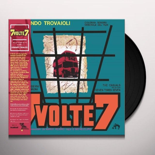 Armando Trovajoli 7 VOLTE 7: COLONNA SONORA / Original Soundtrack Vinyl Record