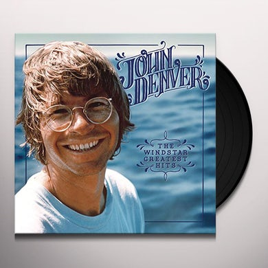 John Denver WINDSTAR GREATEST HITS Vinyl Record