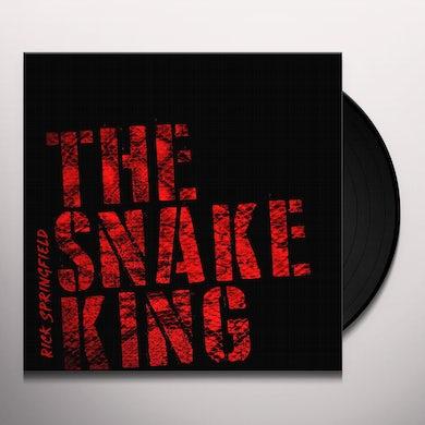 Rick Springfield THE SNAKE KING (BLUE VINYL) Vinyl Record