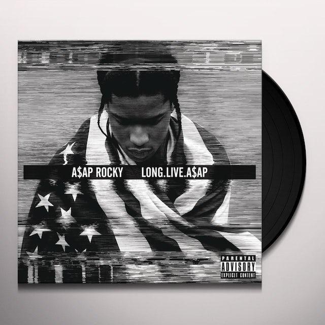 A$AP Rocky LONG LIVE A$AP Vinyl Record