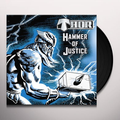Thor HAMMER OF JUSTICE Vinyl Record