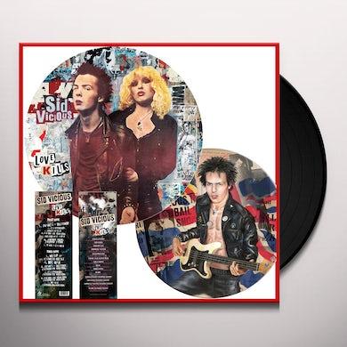 Sid Vicious LOVE KILLS (PICTURE DISC VINYL) Vinyl Record