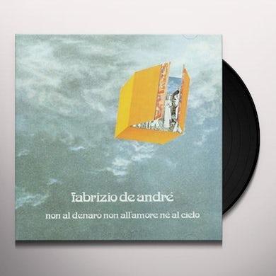 Fabrizio De Andre NON AL DENARO NON ALL'AMORE NE AL CIELO Vinyl Record