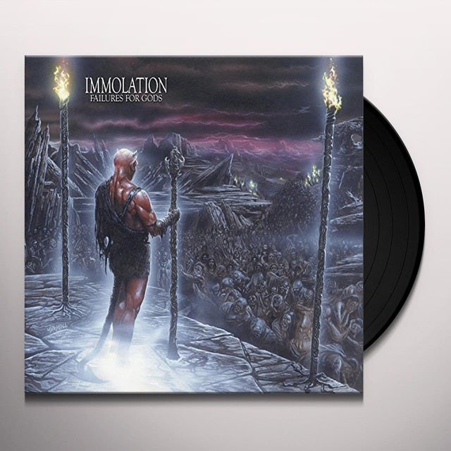 Immolation FAILURES FOR GODS Vinyl Record