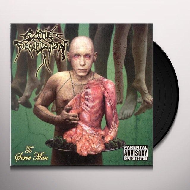 Cattle Decapitation TO SERVE MAN Vinyl Record