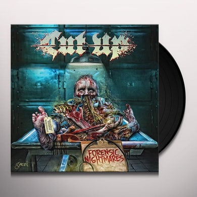 Cut/Up FORENSIC NIGHTMARES Vinyl Record