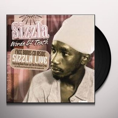 Sizzla WORDS OF TRUTH Vinyl Record