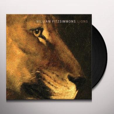 William Fitzsimmons LIONS Vinyl Record