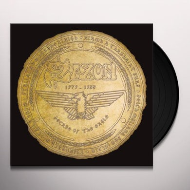 Saxon Decade of the Eagle Vinyl Record