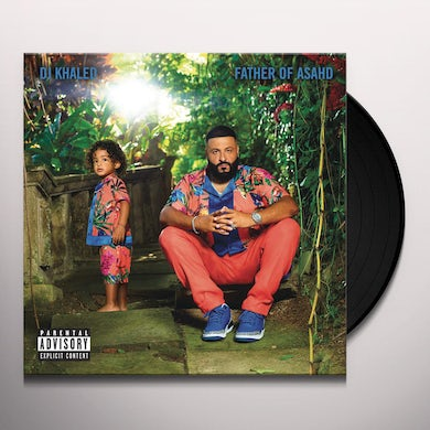 DJ Khaled FATHER OF ASAHD Vinyl Record