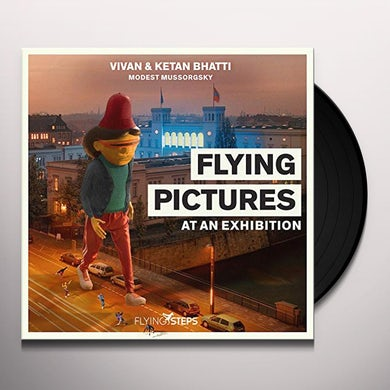 Flying Steps FLYING PICTURES AT AN EXHIBITION Vinyl Record