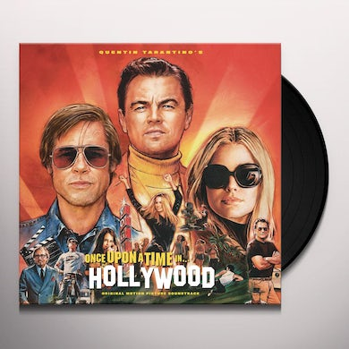 Quentin Tarantino'S Once Upon Time Hollywood / Ost QUENTIN TARANTINO'S ONCE UPON TIME HOLLYWOOD / Original Soundtrack Vinyl Record