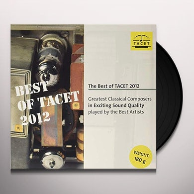 J.S. Bach / Gaede BEST OF TACET 2012 Vinyl Record