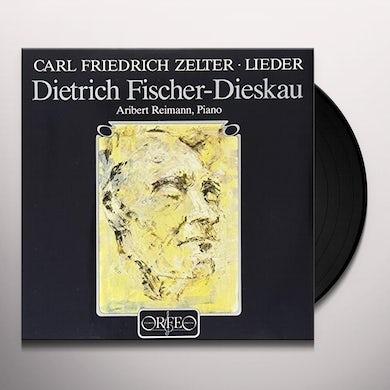 Fischer-Dieskau / Reimann LIEDER Vinyl Record