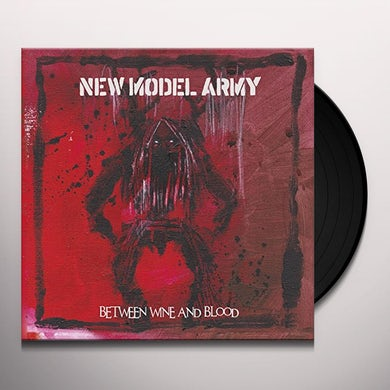 New Model Army BETWEEN WINE & BLOOD Vinyl Record