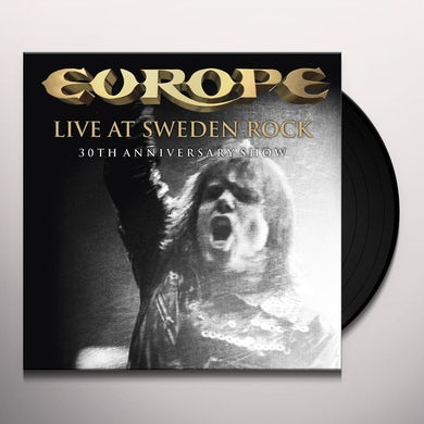 Europe LIVE AT SWEDEN ROCK-30TH ANNIVERSARY SHOW Vinyl Record