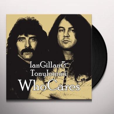 Ian Gillan WHO CARES Vinyl Record - UK Release