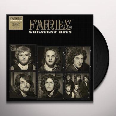 The Family GREATEST HITS Vinyl Record