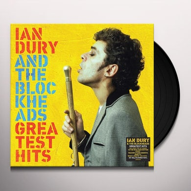 Ian Dury GREATEST HITS Vinyl Record