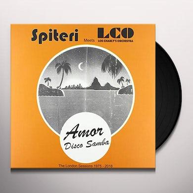 Spiteri / Los Charly'S Orchestra AMOR / DISCO SAMBA Vinyl Record