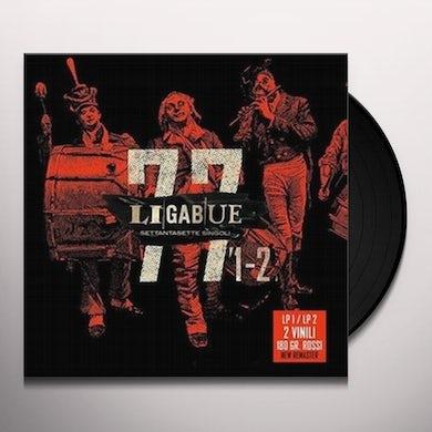 Ligabue 77 SINGOLI / LP 1-LP 2 Vinyl Record