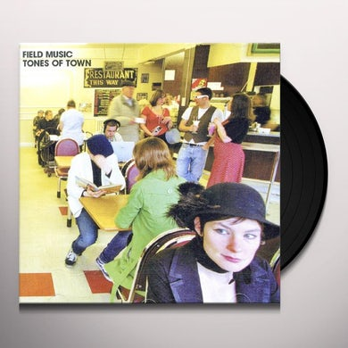 Field Music TONES OF TOWN Vinyl Record