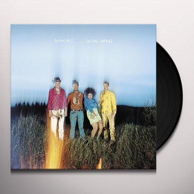 Weaves WIDE OPEN Vinyl Record