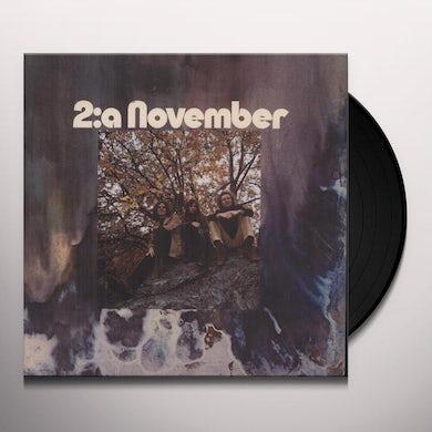 2:A NOVEMBER Vinyl Record - Holland Release