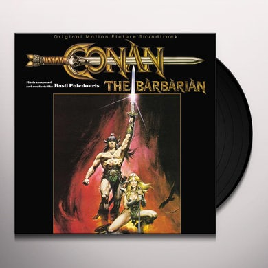 Basil Poledouris CONAN THE BARBARIAN / Original Soundtrack Vinyl Record