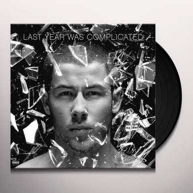Nick Jonas Last Year Was Complicated Vinyl Record