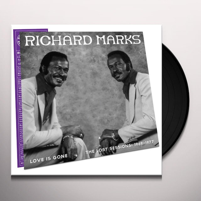 Richard Marks LOVE IS GONE THE LOST SESSIONS: 1969-1977 Vinyl Record