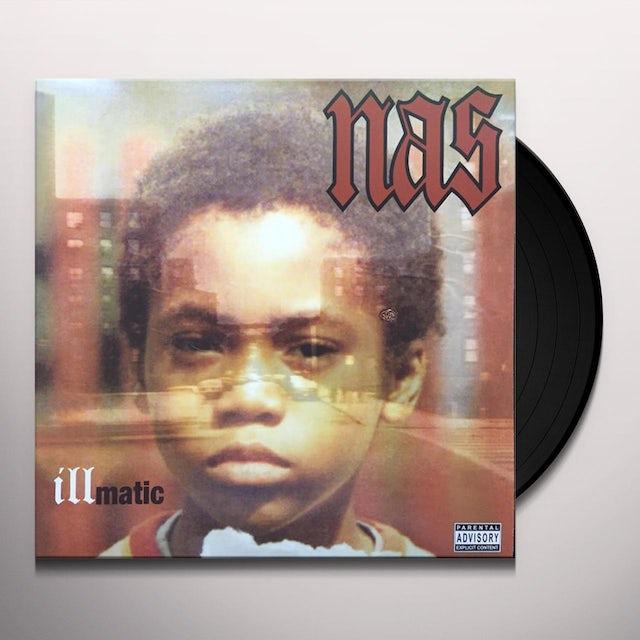 Nas ILLMATIC Vinyl Record