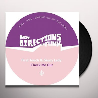 First Touch & Saucy Lady NEW DIRECTIONS IN FUNK VOL. 6 Vinyl Record